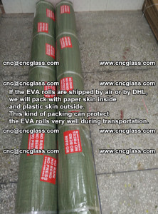 Packing of EVAFORCE EVA interlayer film for laminated glass safety glazing (30)