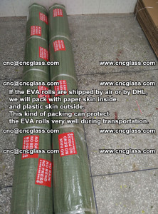 Packing of EVAFORCE EVA interlayer film for laminated glass safety glazing (32)