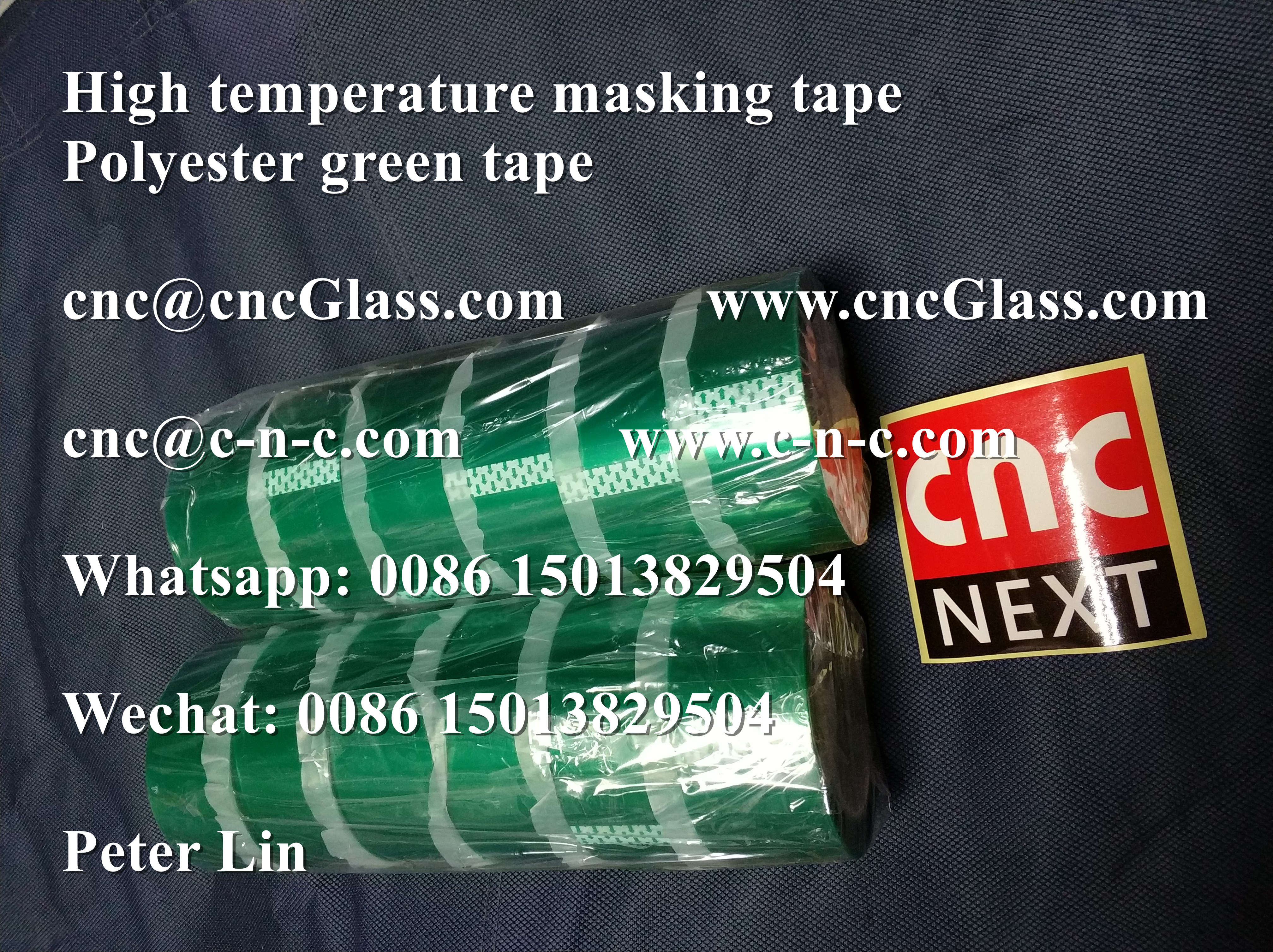 Thermal Cutter Green Tape For Pvb Safety Glazing Cnc